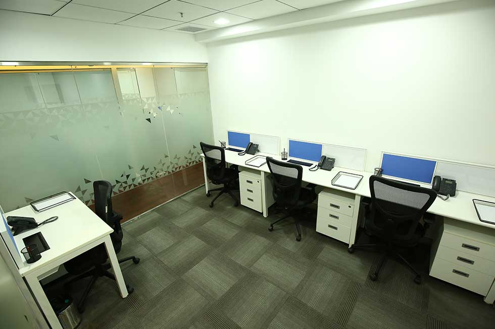 4 Seater Private Office Space